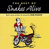 Snakes Alive CD - Poetry by Bob Magor