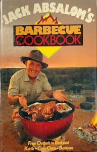 Jack Absalom's Barbecue Cookbook - second hand