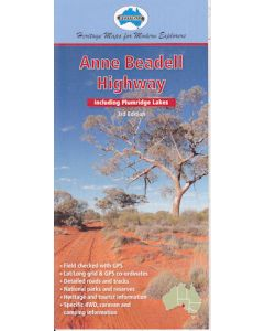 Anne Beadell Hwy Digital Map