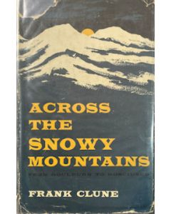 Across the Snowy Mountains - second hand