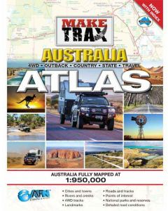 Make Trax Australia Maxi Atlas - With Index