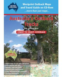 Australia's Outback Tracks - on DVD.  4th Edition
