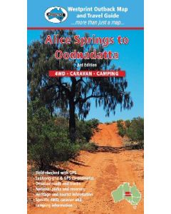 Alice Springs to Oodnadatta Digital Map