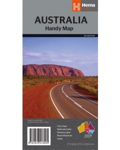 Australia Handy Map - Hema