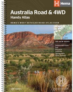 Australia Road and 4WD Handy Atlas - 12th Edition