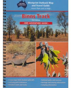 Binns Track Digital Map