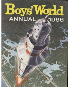 Boys World Annual 1966 - second hand