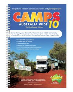 Camps Australia Wide 10 - The Ultimate Guide for The Budget and Freedom Conscious Traveller