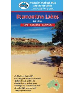 Diamantina Lakes Digital Map