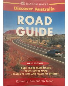 Discover Australia - Road Guide - First Edition -  second hand
