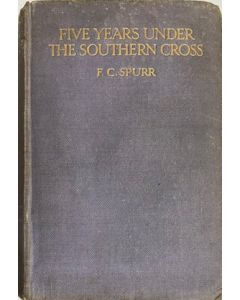 Five Years Under The Southern Cross - second hand