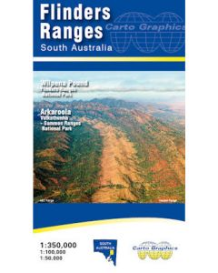 Flinders Ranges - Carto Graphics