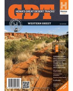 Great Desert Tracks - Western sheet