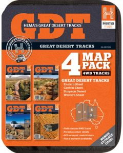 Great Desert Tracks - Pack 6th Edition