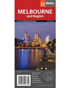 Melbourne Handy Map
