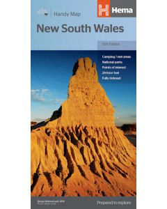 New South Wales Handy Map