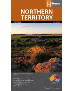 Northern Territory State- Large -Hema
