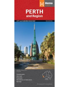 Perth Handy Map