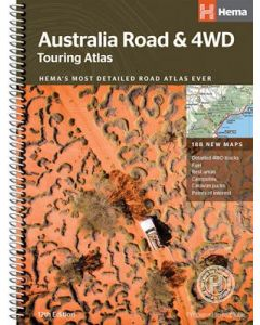 Australia Road and 4WD Touring Atlas - 12th Ed