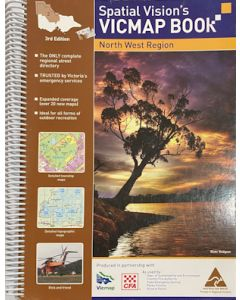 Spatial Vision's VICMAP Book - North West Region, 3rd Edition - Secondhand