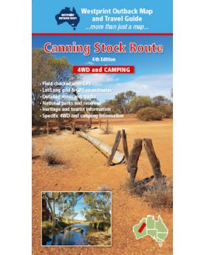 Canning Stock Route Map